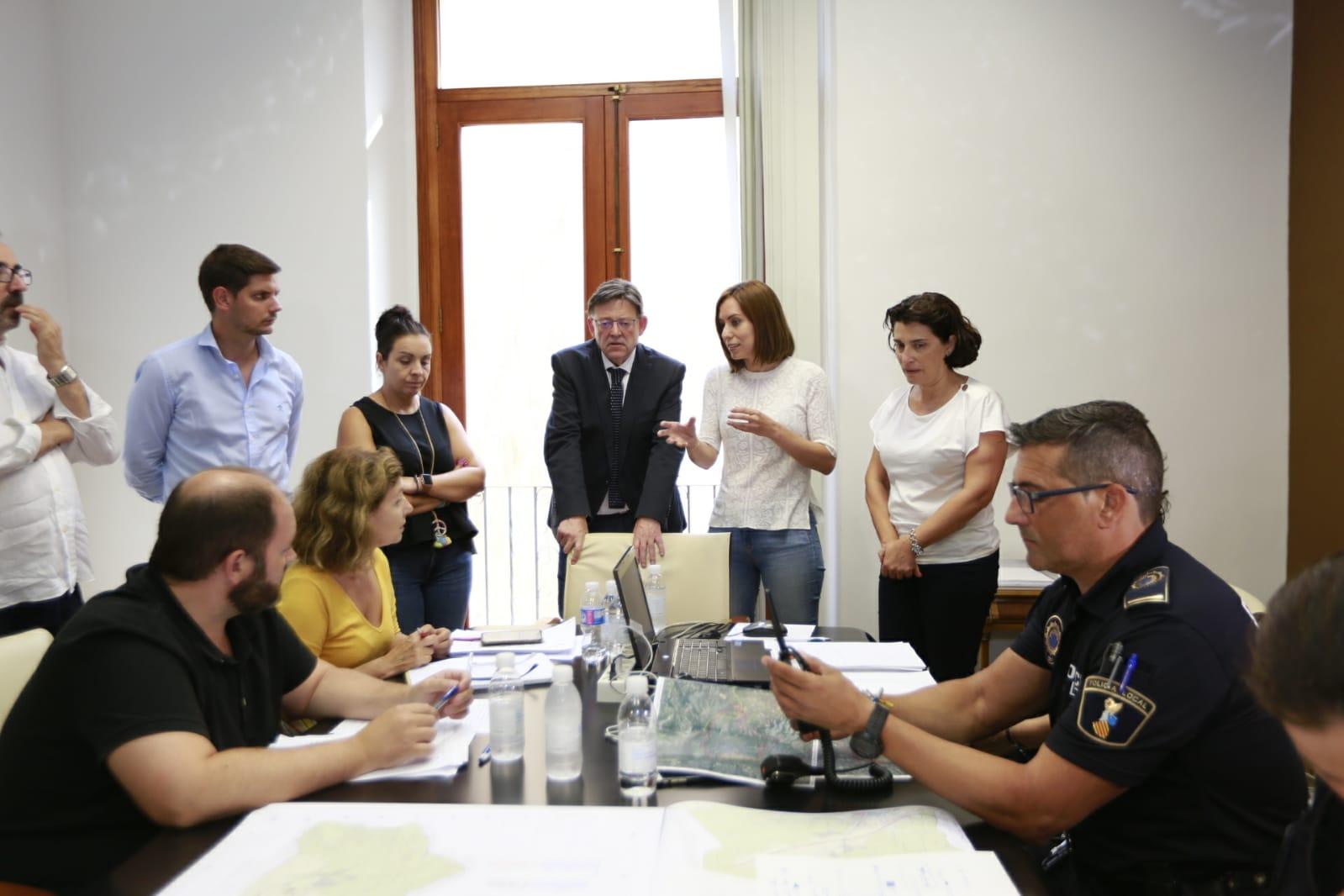 Puig anuncia que es buscarà una solució 'de manera immediata' per a les persones amb una primera residència afectada