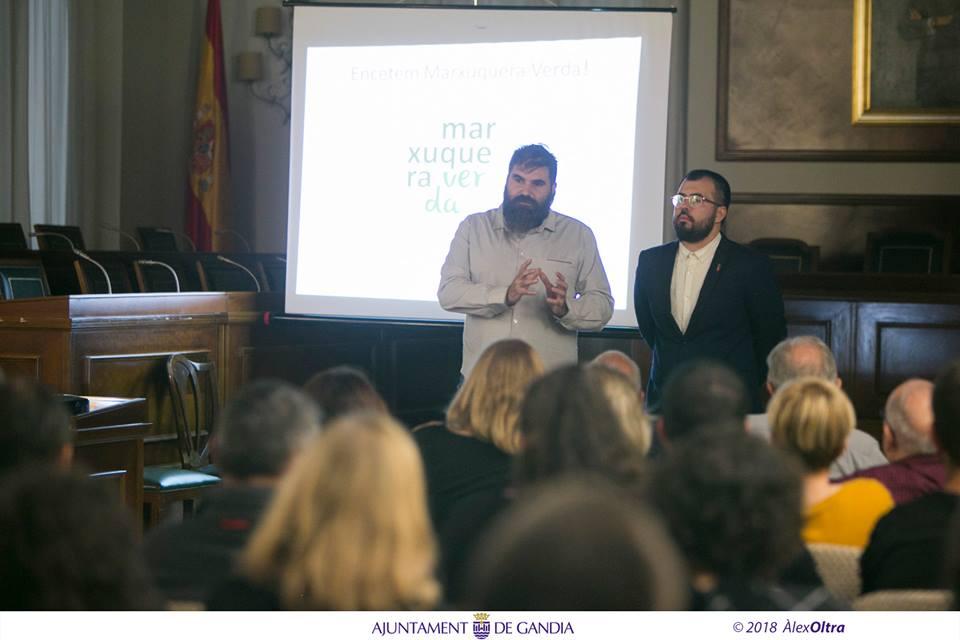 Marxuquera Verda reuneix col·lectius i associacions per col·laborar en la recuperació de l'àrea cremada