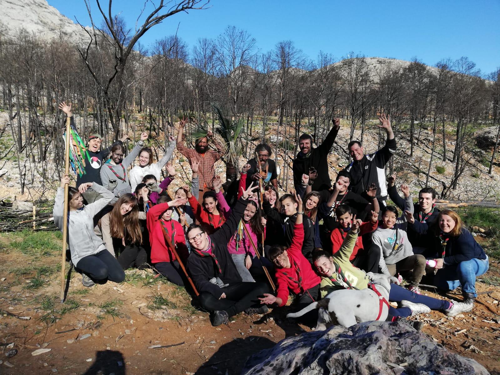 El Grup Scout Parpalló adequa diferents espais al Borrell