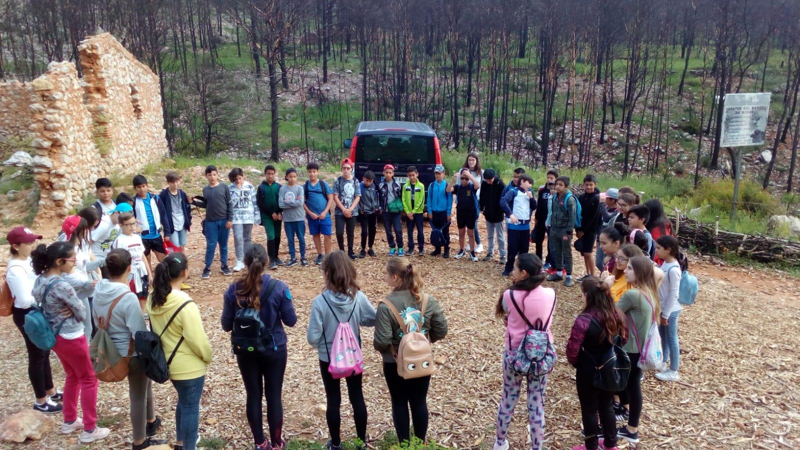 El CEIP Sant Francesc de Borja participa en #MarxuqueraVerda